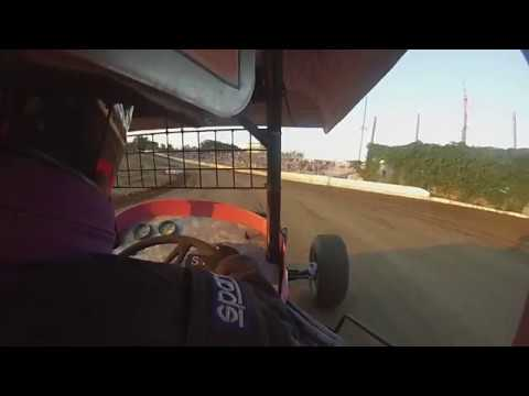 Vintage Racing at Princeton Speedway 8/11/2017 Heat Race Ride Along in the #1A Super Mod Car