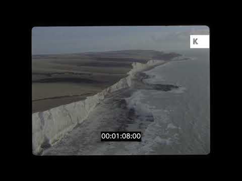 Peacehaven Cliffs, East Sussex, UK, 35mm
