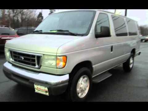 2003 ford e series van e 350 sd xlt 15 passenger van for sale in east windsor nj youtube. Black Bedroom Furniture Sets. Home Design Ideas