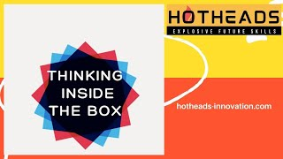 THINKING INSIDE THE BOX - BRAINSTORM TRAINING