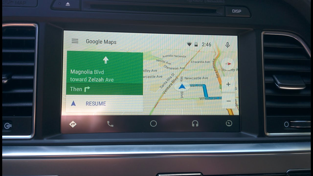 how to use youtube with android auto