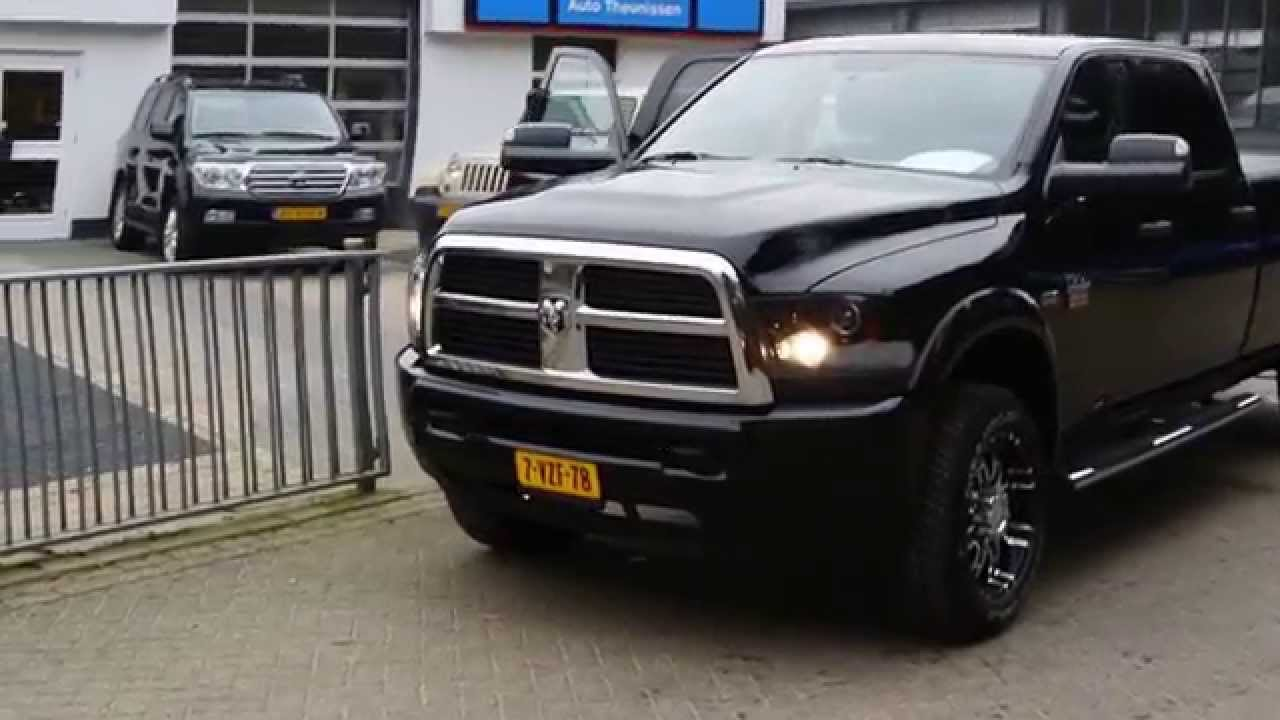 dodge ram 2500 5 7l v8 hemi heavy duty crew cab longbed pickup 2012 youtube. Black Bedroom Furniture Sets. Home Design Ideas