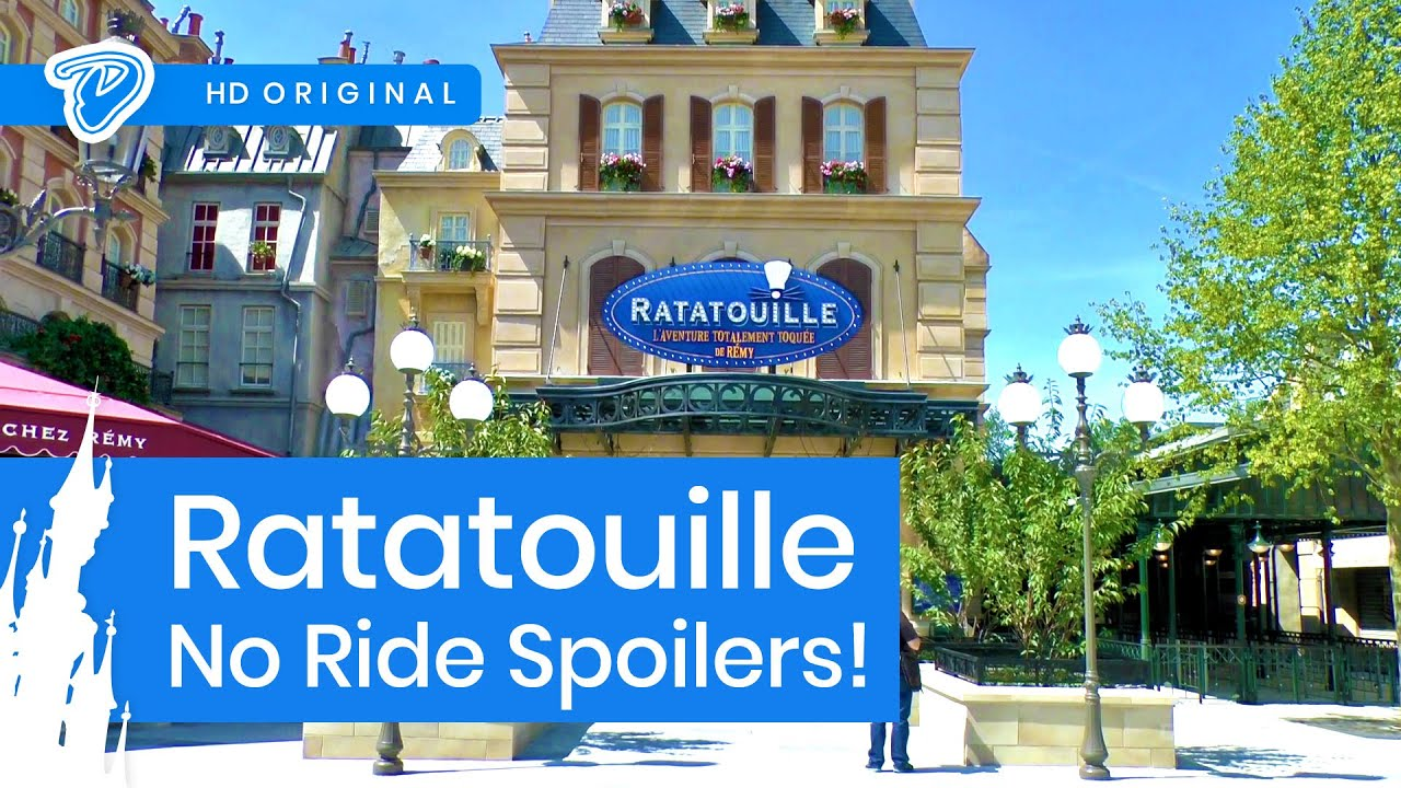 disneyland paris ratatouille walkthrough tour no onride l 39 aventure totalement toqu e de r my. Black Bedroom Furniture Sets. Home Design Ideas