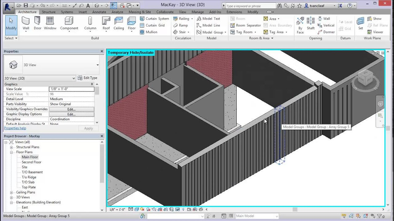 Modifying Wall Profiles And Sweeps In Revit 2014 Board