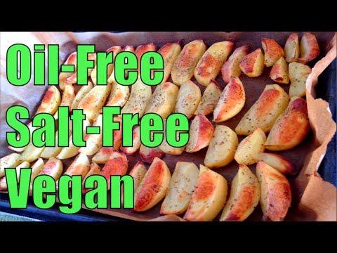 Healthy oil free salt free potato wedges recipe demo youtube healthy oil free salt free potato wedges recipe demo forumfinder Images