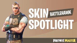 Battlehawk Skin Spotlight (Fortnite Battle Royale)