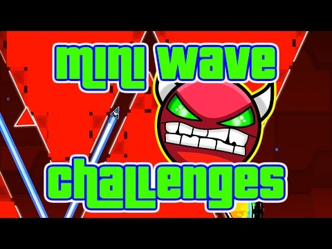 JITTER CLICK ~ Geometry Dash MINI WAVE Challenges