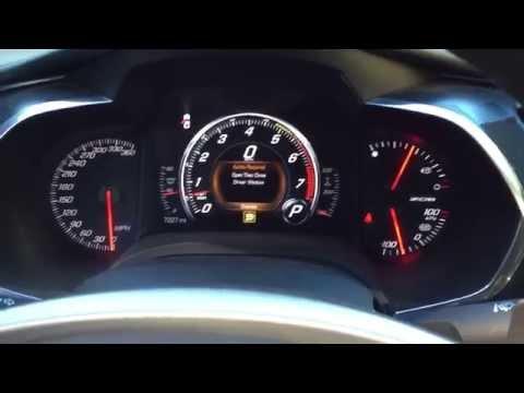 2015 Chevrolet Corvette Z06 Supercharged V-8 Revving!