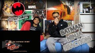 BATMAN NINJA REACTION!!   YES! A BATMAN ANIME MOVIE!!