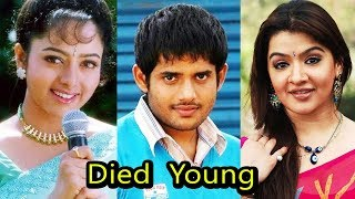 10 South Indian Celebrities Who Died Young   Shocking
