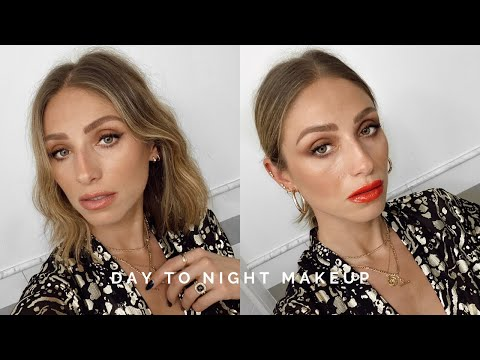 DAY TO NIGHT HOLIDAY MAKEUP   5 PRODUCTS, 2 LOOKS