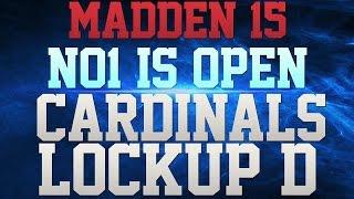 MADDEN 15 -  IM BACK!!!!! - CARDINALS LOCKUP SWARMING MAN COVERAGE!!! - DEFENSIVE GRINDER!!!! -