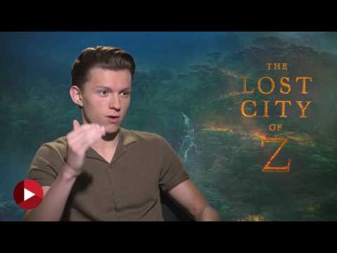 THE LOST CITY OF Z - TOM HOLLAND #CHIPCHAT/INTERVIEW