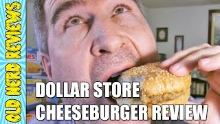 Fast Bites Cheeseburger Review (eating The Dollar Stores, Ep #17)