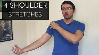4 shoulder/neck stretches for your massage clients