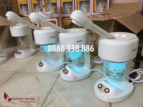 Giới thiệu máy xông hơi mặt mini tại nhà - Huyền Trang shop 0886338886