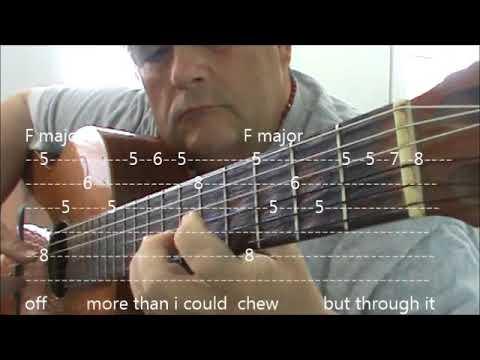 My WAY FRANCE GUITAR TABS AND CHORDS IN C MAJOR ELVIS KEY VERSION ...