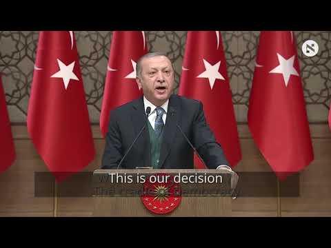 Erdogan says U.S. can't buy Turkish support on Jerusalem