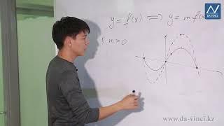 10 класс, 17 урок, Построение графика функции y=mf(x)