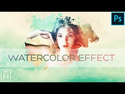 How to Create Watercolor Effect - Photoshop Tutorial thumbnail