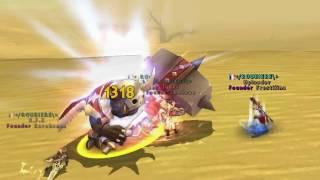 Ragnarok Online 2 - Goblin Leader farming by Roubiere guild