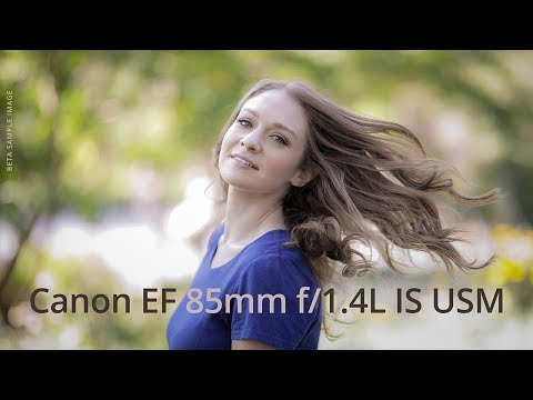 CANON EF 85MM F/1.4L IS USM : First Look with Allyson Berger