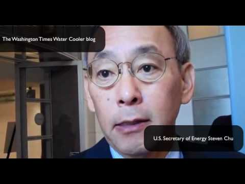 U.S. Secretary of Energy Steven Chu interview