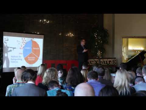 Weapons of Love – How Confrontational Compassion Defeats Violence   David Pulsipher   TEDxRexburg