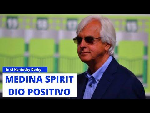 MEDINA SPIRIT dio positivo en el Kentucky Derby