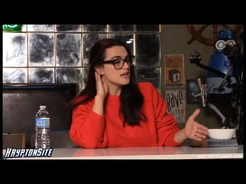 Katie McGrath | Supergirl Season 3 on Set