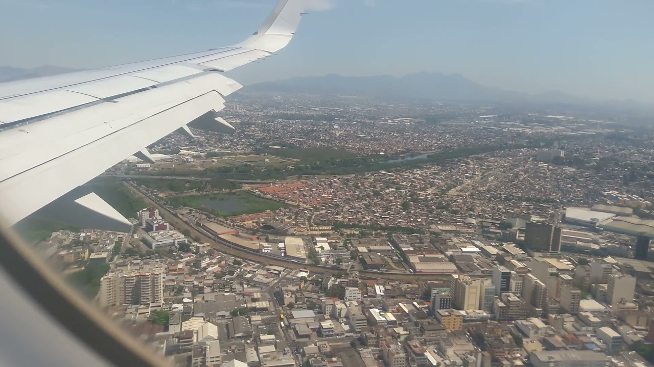 Aterrizaje en San Pablo TAM