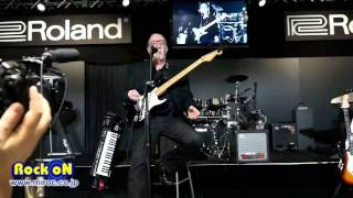 namm 2012 roland g5 fender vg stratocaster by rock on report