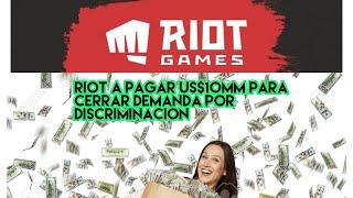 Riot Games a pagar US$10MM para cerrar demanda por discriminación