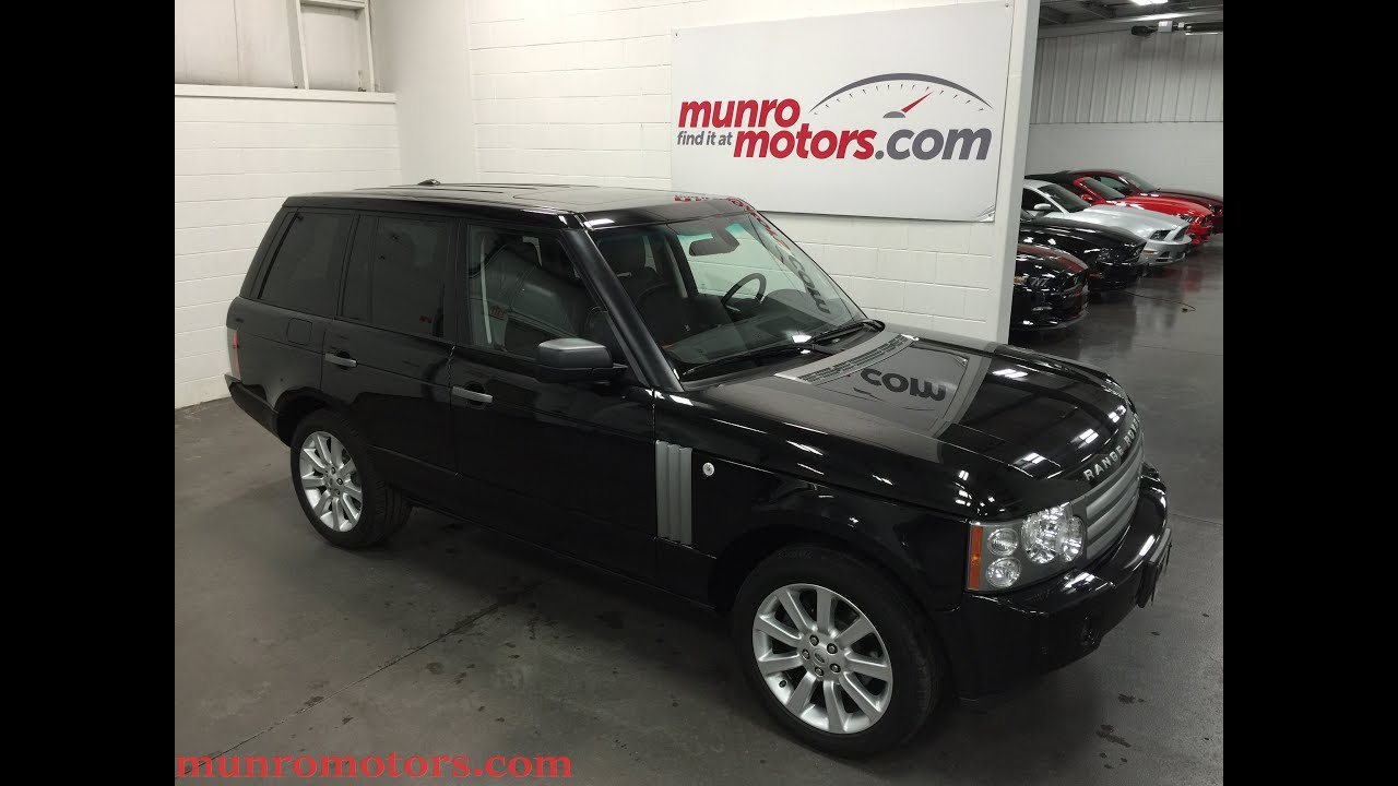 2009 Land Rover Range Rover HSE NAV DVD Low 30 kms Behemoth SOLD