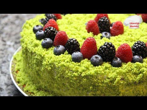 """ТОРТ """"ЛЕСНОЙ МОХ"""".Очень вкусный и эффектный торт! Если получилось у меня, на 100% получится и у Вас!"""