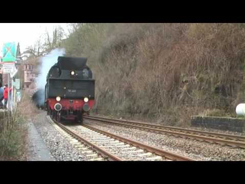 Eisenbahnromantik, steam locomotives, Gerolstein - Germany HD Travel Channel