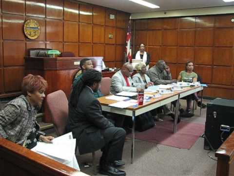 """MVI 2385 - East Cleveland OH """"FAKE"""" City Council Meeting - 4/18/2017"""