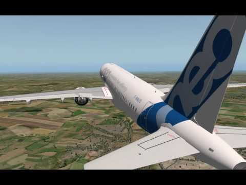 FULL FLIGHT:A320-271neo from TOULOUSE TO BIARRITZ
