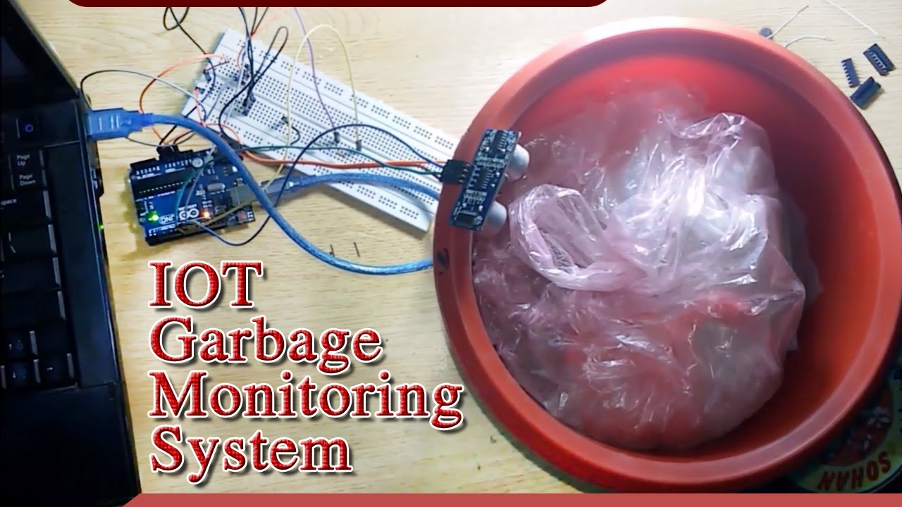 IOT Garbage Monitoring System using Arduino