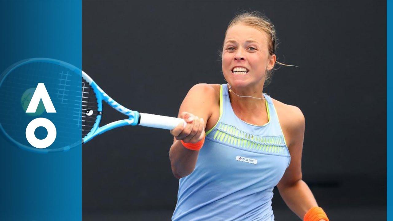 Aleksandra Krunic V Anett Kontaveit Match Highlights 1R