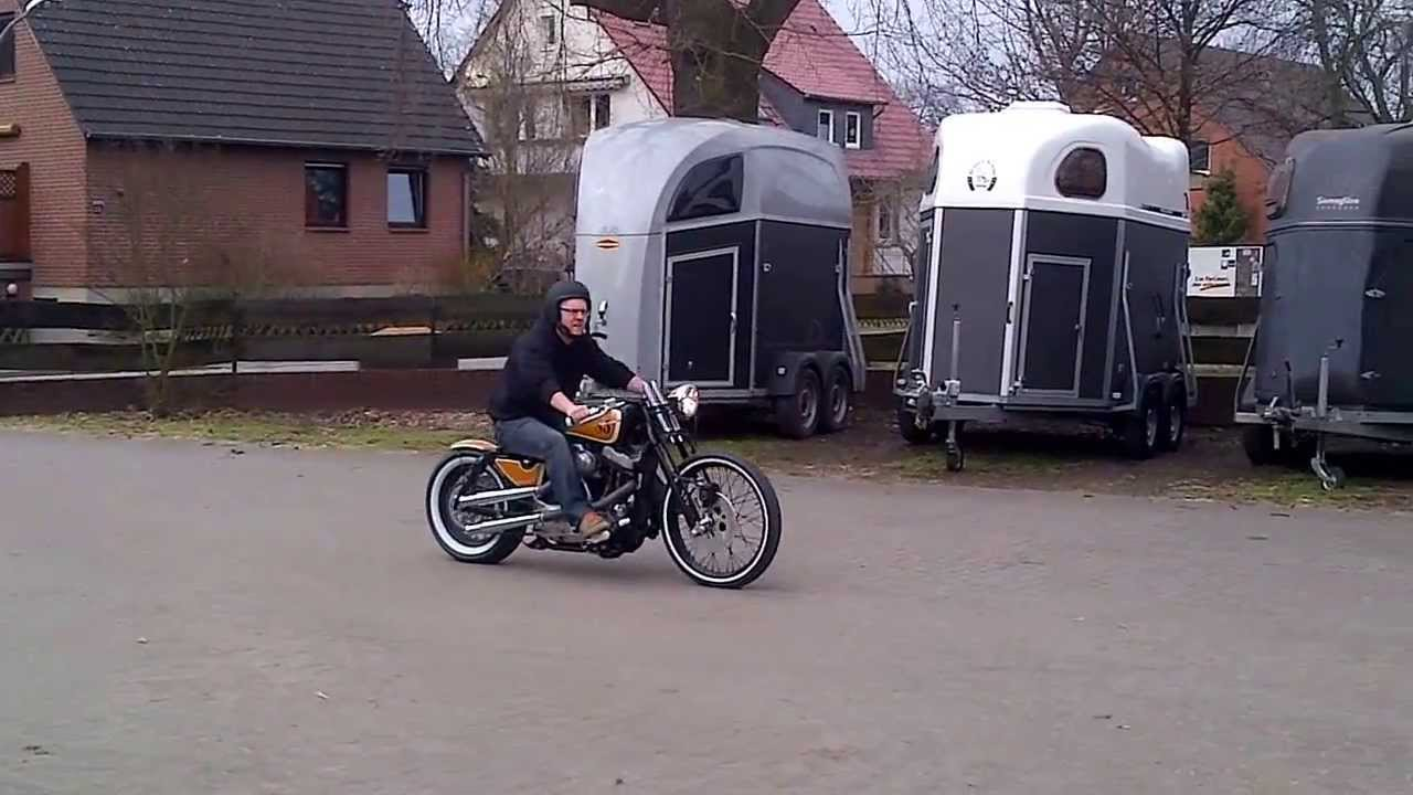Harley Davidson Sportster Xlh 1100 First Ride Part Two Youtube 1986