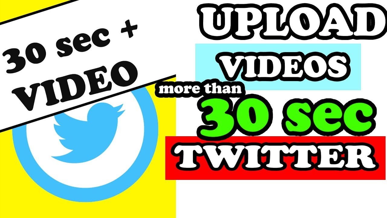 Hindi Twitter How To Upload Longer Than 30 Sec Videos From Desktop Twitter Hacks Upload Video