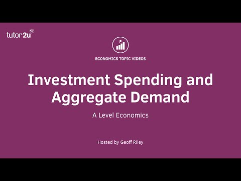 Aggregate Demand: Investment Spending