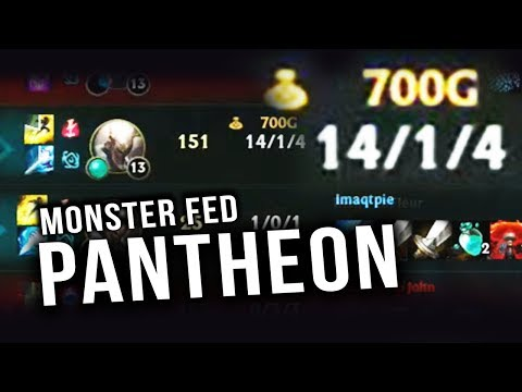 MONSTER FED PANTHEON GOES APE IN THE RIFT