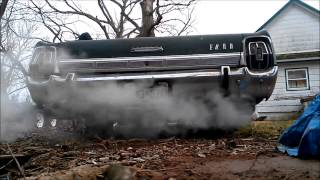 1967 Ford Galaxie 500 & alittle Reving