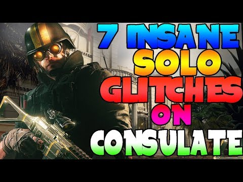 7 INSANE SOLO GLITCH ON CONSULATE - INVINCIBLE (Rainbow Six Siege) (AFTER PATCH)