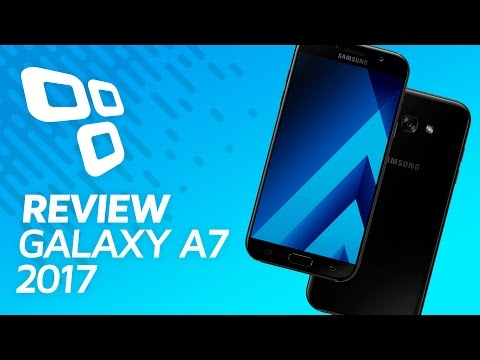 Samsung Galaxy A7 2017 - Review - TecMundo
