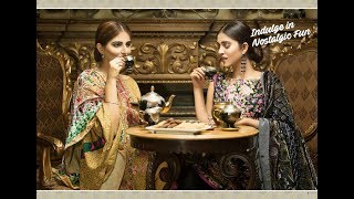 Shaista Modail Palachi Embroidered Collection 2017-18 With Price