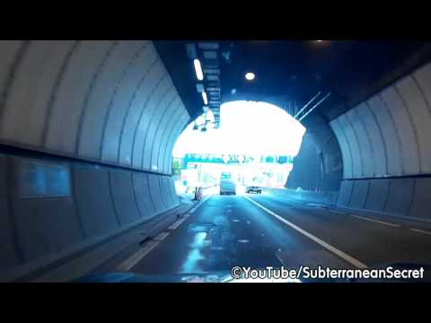 Dash Cam Footage of the Brynglas Tunnels, M4 Motorway, Newport