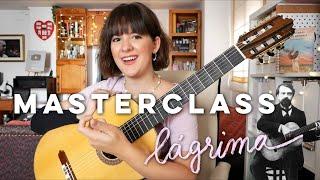 Masterclass con Paola Hermosín sobre Lágrima de Tárrega